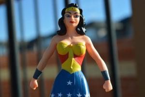 Mutig wie eine Heldin