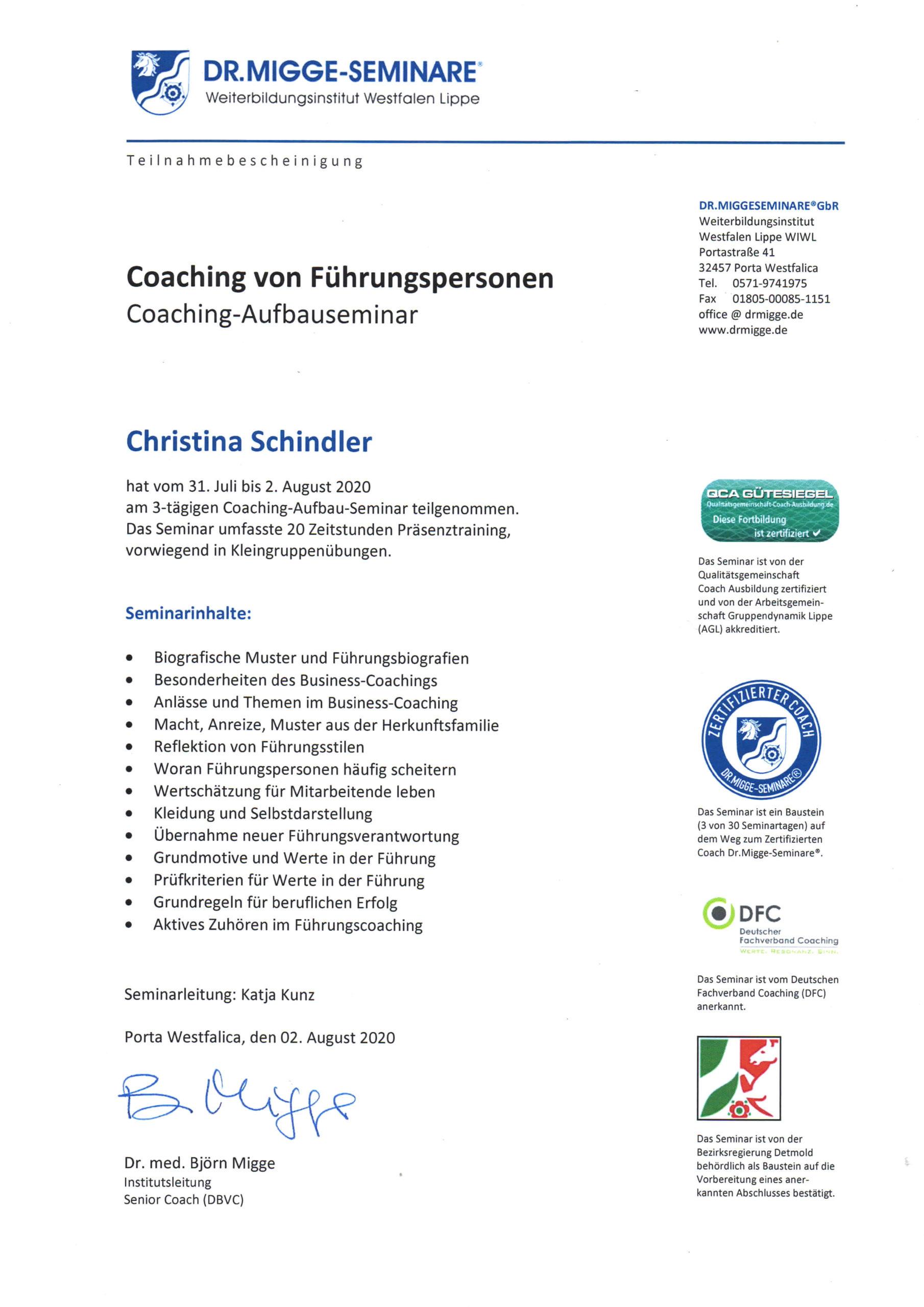 Zertifikate Führungskräftecoaching data-id=